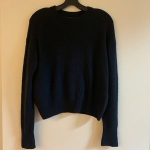Vince textured wool pullover sweater xs